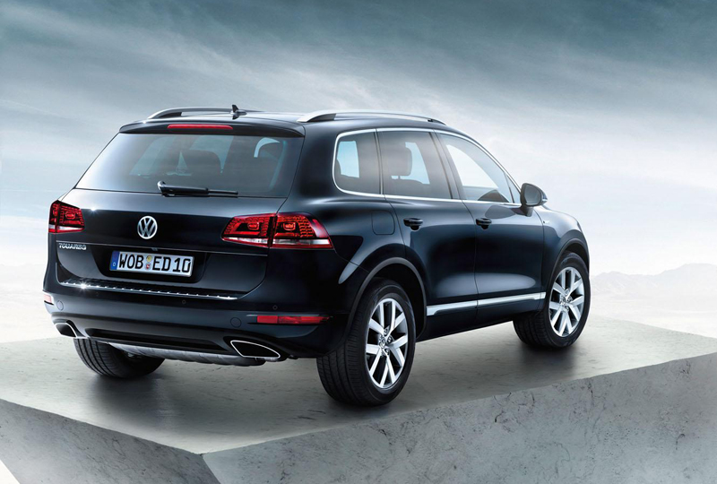 2013 Volkswagen Touareg Edition X 11 Volkswagen offers 2013 Touareg Edition X on its anniversary