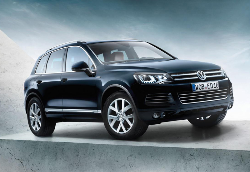 2013 Volkswagen Touareg Edition X1 Volkswagen offers 2013 Touareg Edition X on its anniversary