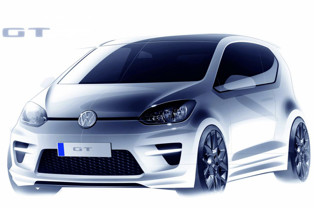 2013 Volkswagen Up GT Volkswagen Up! GT to be launched in 2013