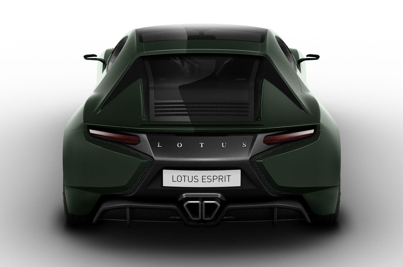 2014 Lotus Esprit 2 Lotus' 2014 Esprit heading for production