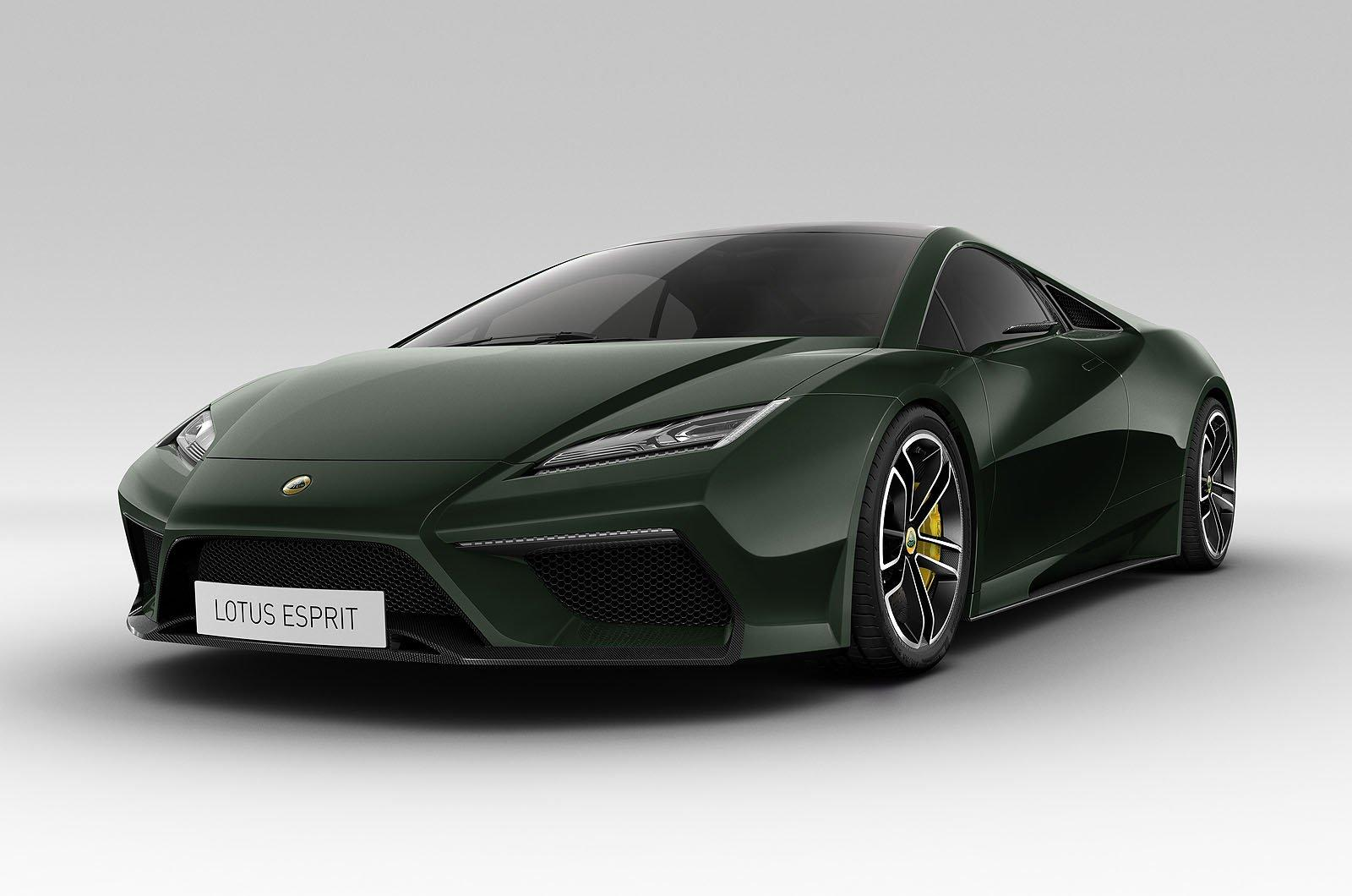 2014 Lotus Esprit Lotus' 2014 Esprit heading for production
