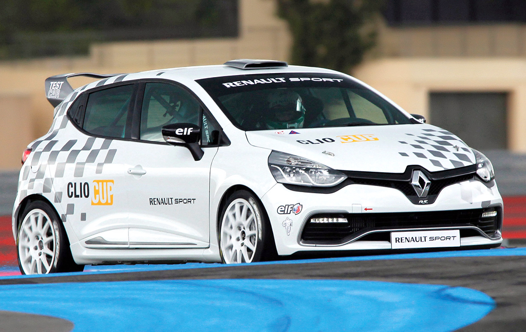 2014 Renault Clio Cup Renault Clio Cup 2014 details have been declared