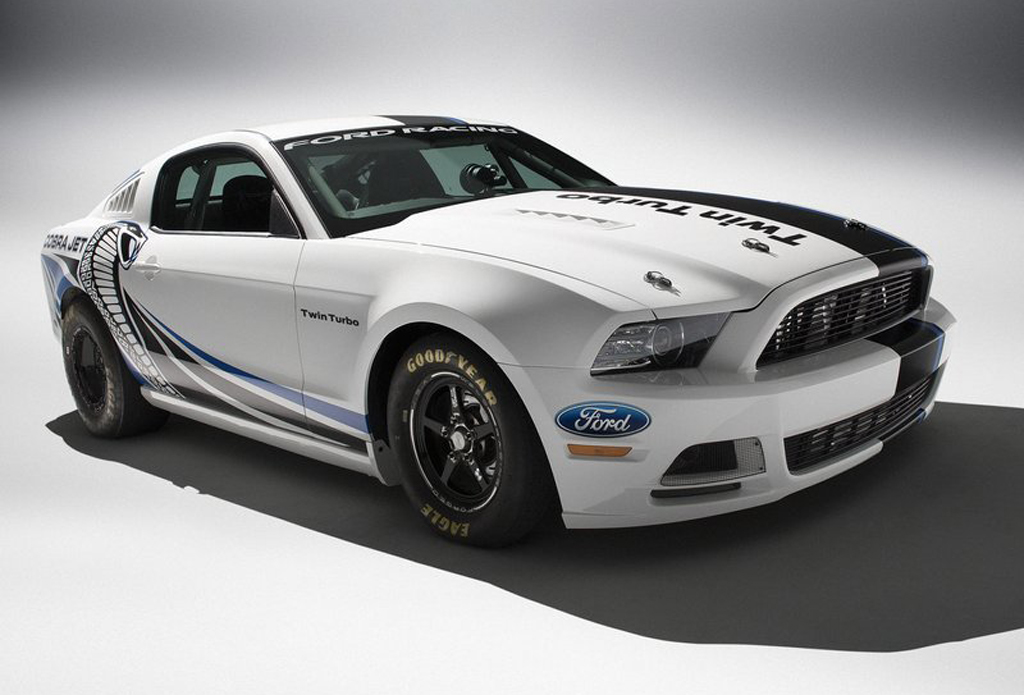 "2013 Ford Racing Mustang Cobra Jet ""2013 Ford Racing Mustang Cobra Jet"" Concept revealed"