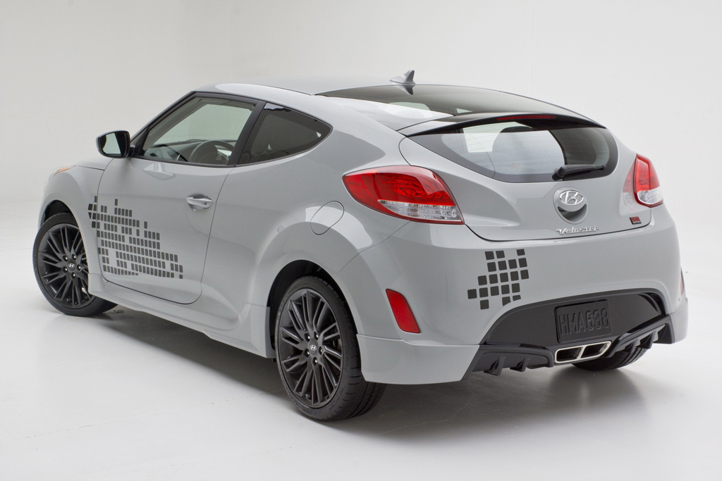 2013 Hyundai Veloster REMIX Edition 4 Hyundai's latest offering 2013 Veloster RE:MIX Edition
