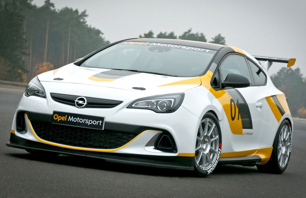 2013 Opel Astra OPC Cup and Adam Cup Opel brings the Astra OPC cup and Adam Cup to motorsports