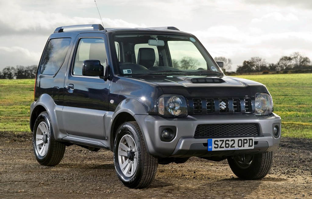 2013 Suzuki Jimny 2013 Suzuki Jimny unleashed for the UK market