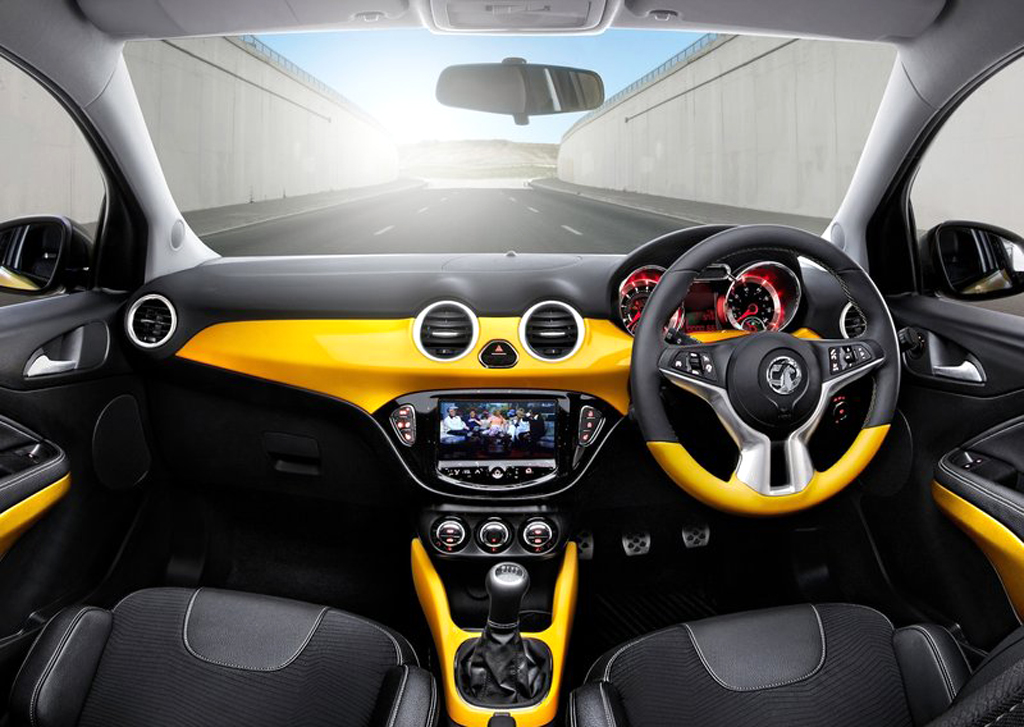 2013 Vauxhall Adam 2 2013 Vauxhall Adam revealed