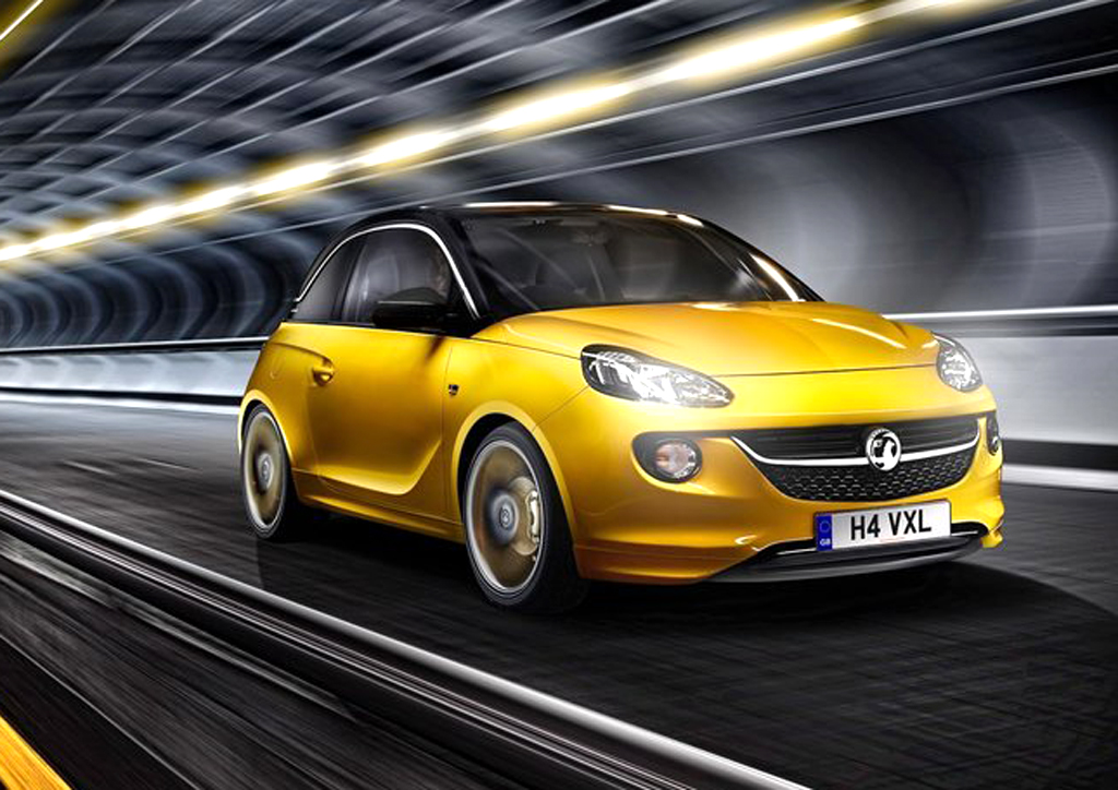 2013 Vauxhall Adam 2013 Vauxhall Adam revealed
