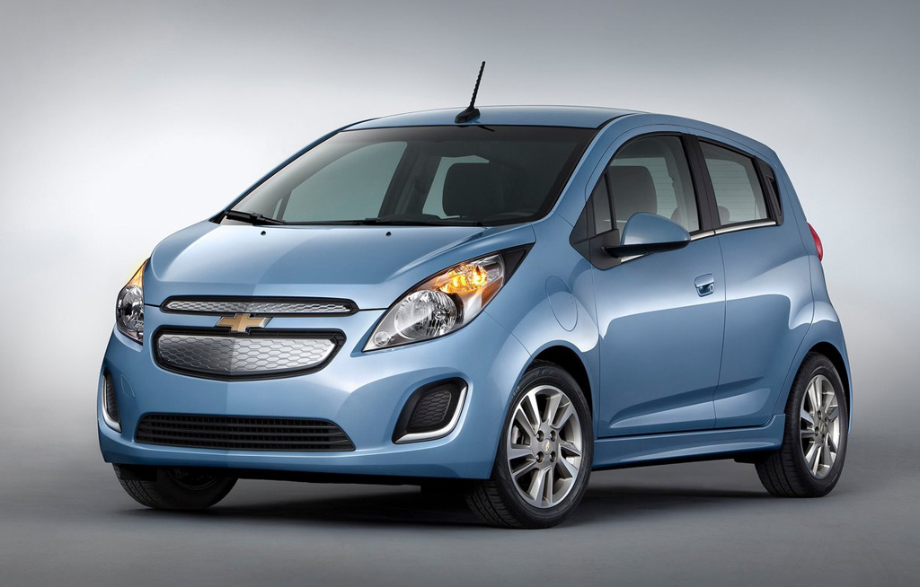 2014 Chevrolet Spark EV The new 2014 Chevrolet Spark EV