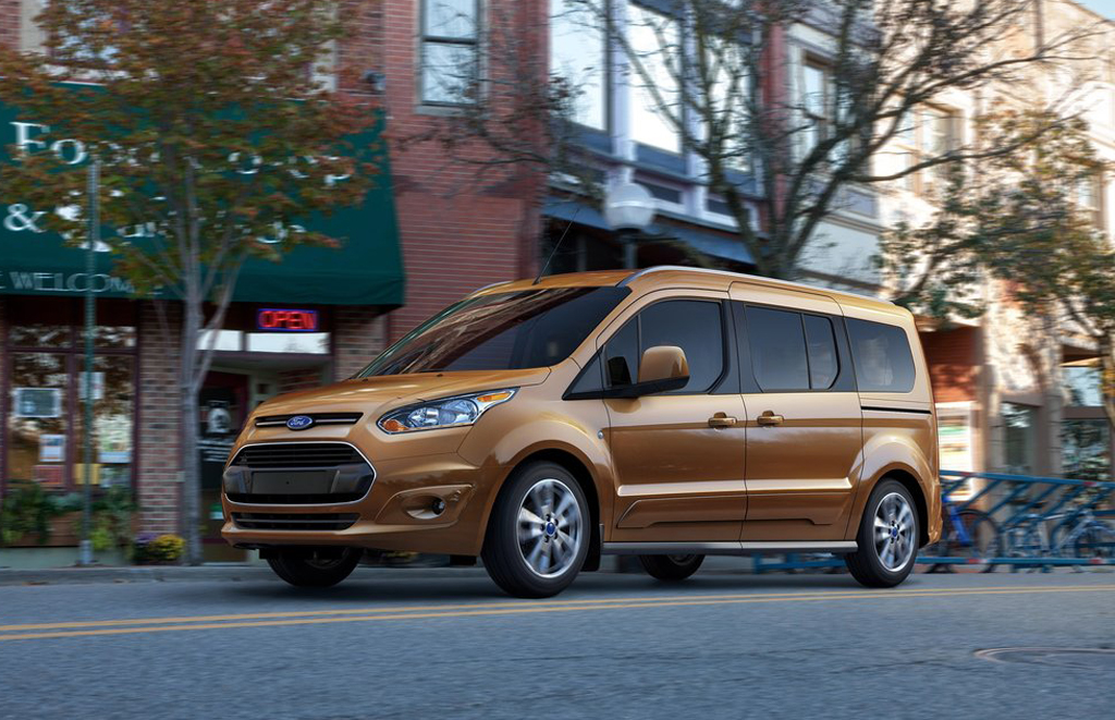 2014 Ford Transit Connect Wagon 2014 Ford Transit Connect Wagon revealed