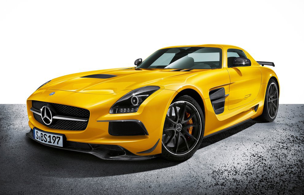 2014 Mercedes SLS AMG Black Series '2014 Mercedes SLS AMG Black Series' features and details revealed