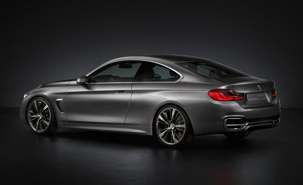 2013 BMW 4 Series Coupe Concept 2 New 2013 BMW 4 Series Coupe Concept