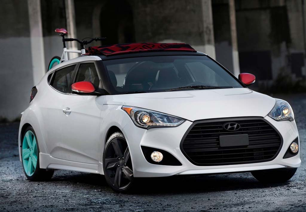 2013 Hyundai Veloster C3 Concept Sustainable and suave 2013 Hyundai Veloster C3
