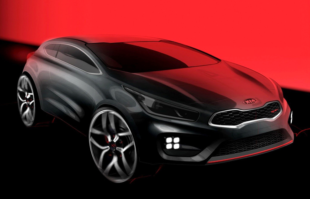 2013 Kia Pro Cee'd GT  The 2013 Kia Pro Cee'd GT and Cee'd GT confirmed revelation