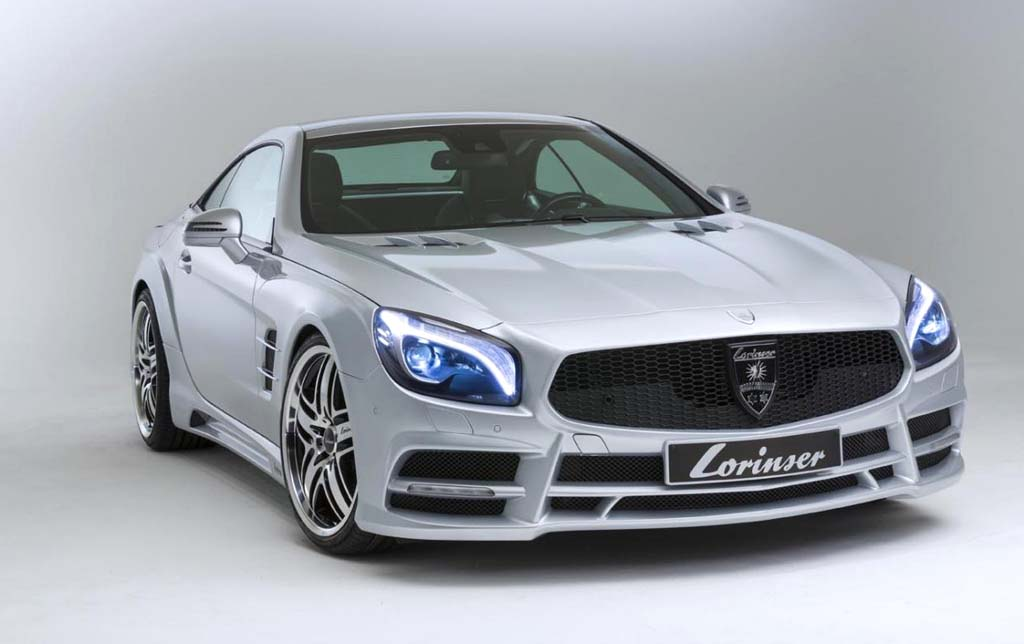 2013 Mercedes Benz SL 500 by Lorinser New Mercedes Benz SL 500 by Lorinser