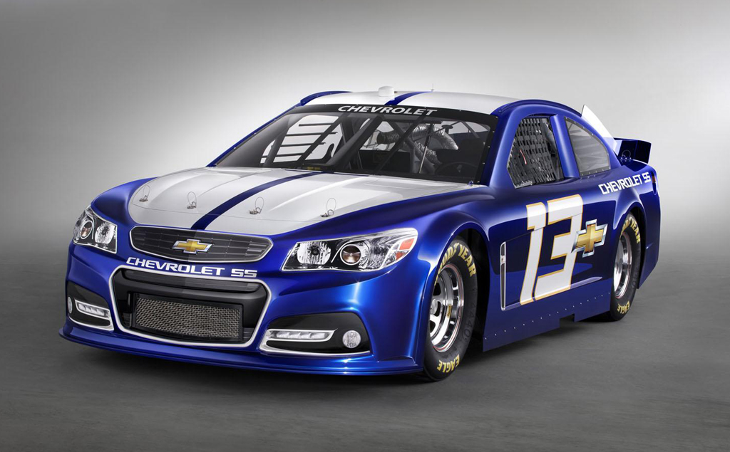 2013 NASCAR Chevrolet SS Race Car 2013 Chevrolet Sports Car Nascar SS