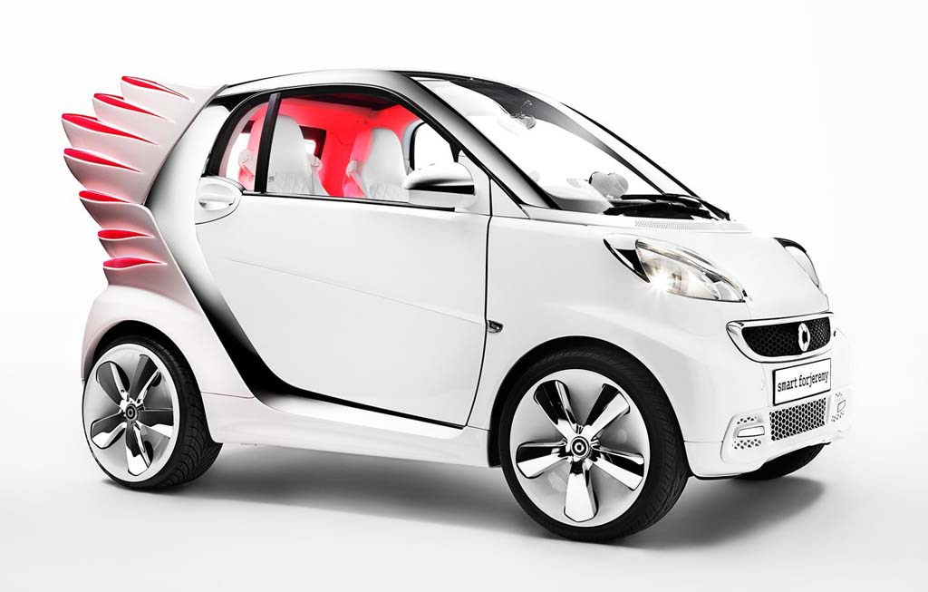 2013 Smart Forjeremy Concept The electrifying 2013 Smart Forjeremy Concept car