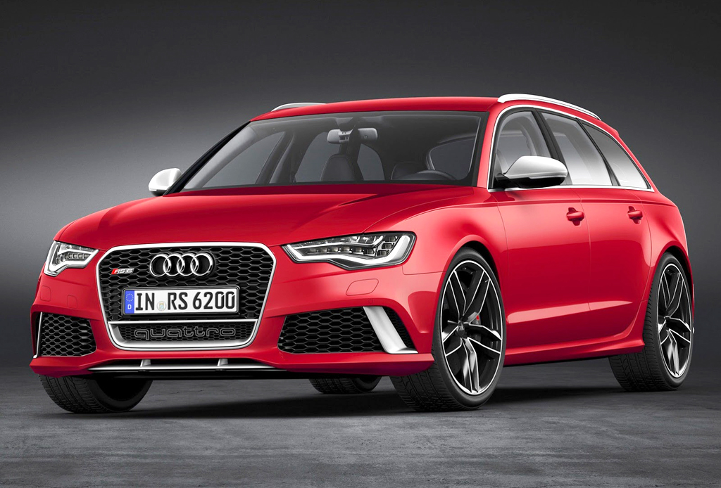 2014 Audi RS6 Avant First look of Audi RS6 Avant 2014