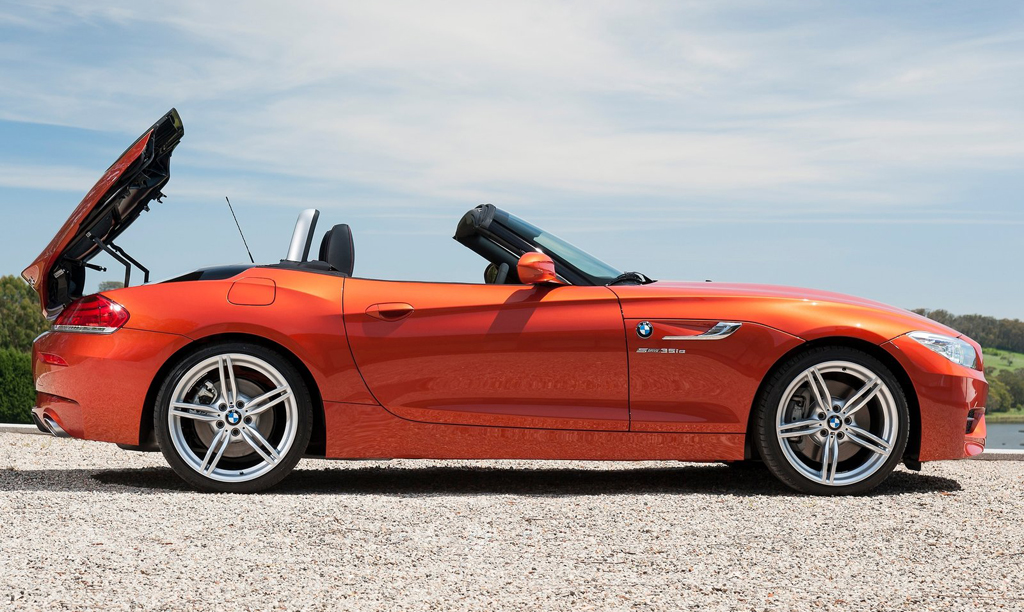 Bmw Z4 Old 2014 Bmw Z4 Roadster Machinespider Com Black