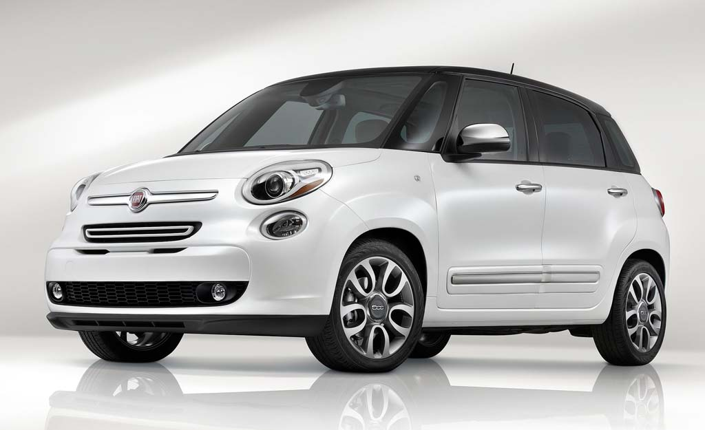 2014 Fiat 500L US Version 2014 Fiat 500L US Version: the height of luxury