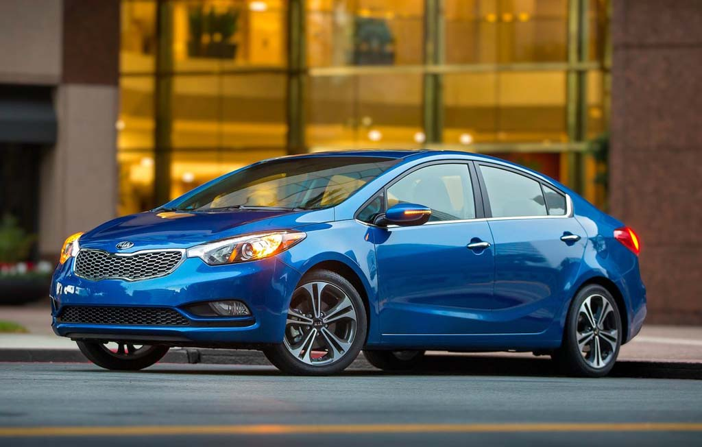 2014 Kia Forte 1 Surprisingly luxurious Kia Forte (2014)