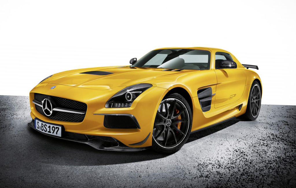 2014 Mercedes Benz SLS AMG Black Series Mercedes SLS AMG Black Series 2014