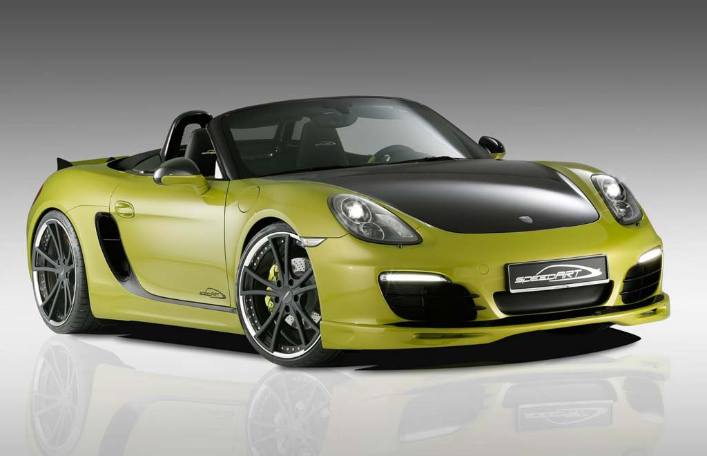 speedART SP81 R based on Porsche Boxster S 2013 Porsche Boxter S upgrade by speedART