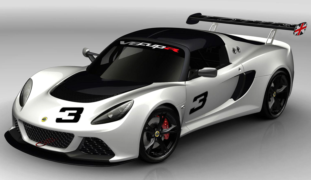 2013 Lotus Exige V6 CupR 2 2013 V6 CupR announced by Lotus Exige at the Autosport International