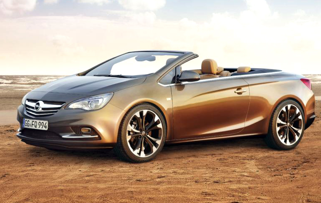 2013 opel cascada convertible at 25 945 euro. Black Bedroom Furniture Sets. Home Design Ideas
