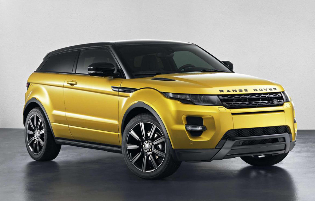 2013 Range Rover Evoque Sicilian Yellow Limited Edition 8 2013 Range Rover Evoque Sicilian Yellow Limited Edition