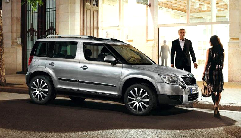 2013 Skoda Yeti Laurin and Klement Edition 6 2013 Skoda Yeti Laurin and Klement Edition launched