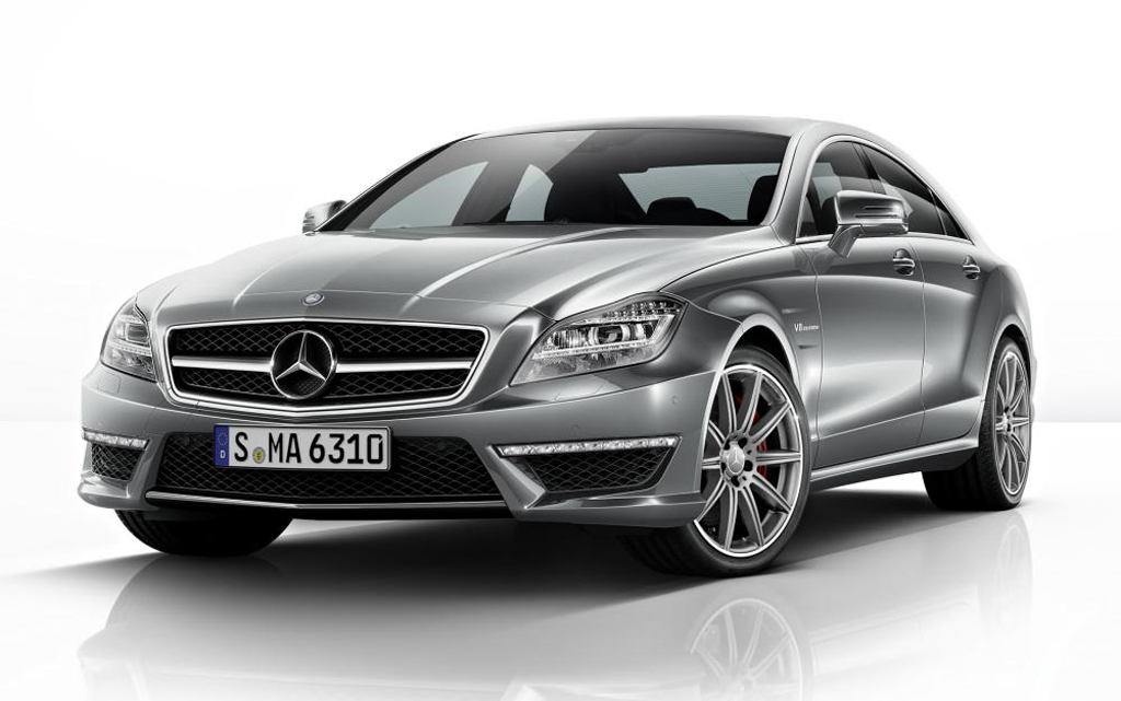 2014 mercedes benz cls 63 amg revealed. Black Bedroom Furniture Sets. Home Design Ideas