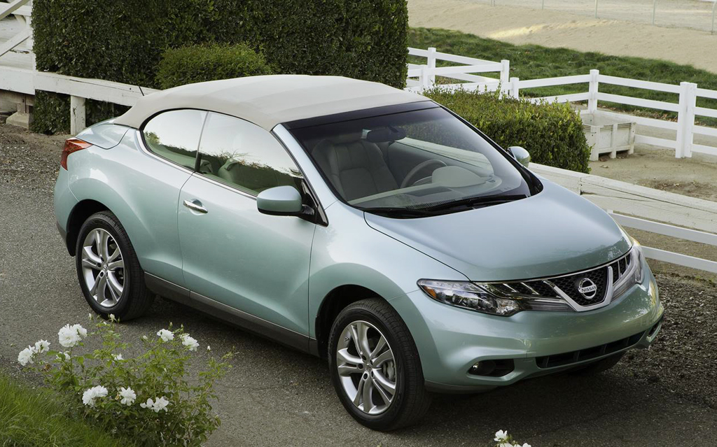 2014 Nissan Murano Cross Cabriolet 5 2014 Nissan Murano Cross Cabriolet priced at $41.995
