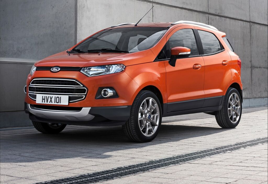 2014 Ford EcoSport EU Version 5 2014 Ford EcoSport EU Version