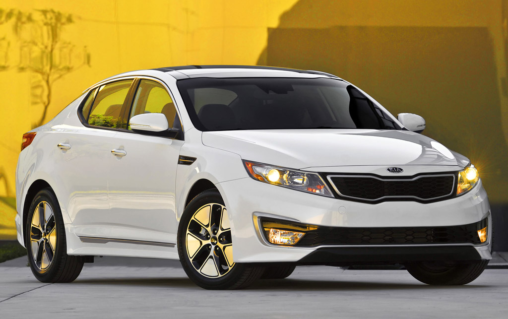 2013 Kia Optima Hybrid 1 New 2013 Kia Optima Hybrid unveiled