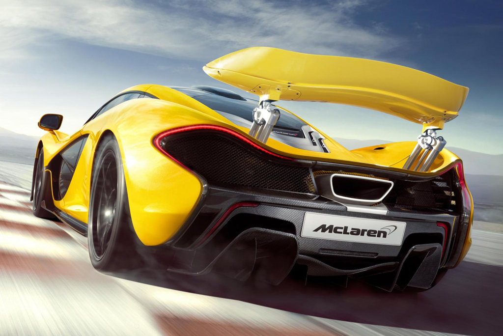 2013 McLaren P1 11 Official Revelation of 2013 McLaren P1