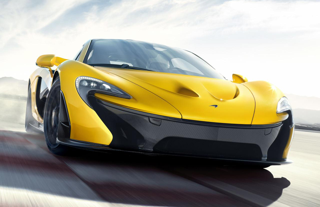 2013 McLaren P1 4 Official Revelation of 2013 McLaren P1