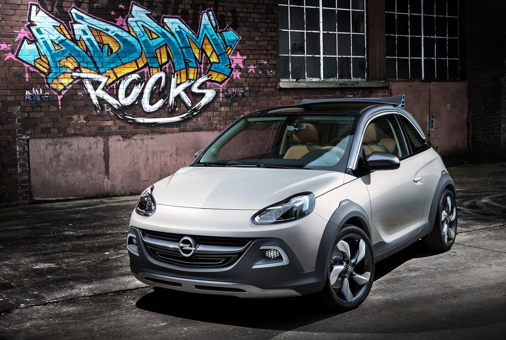 2013 Opel Adam Rocks Concept 4 Personalize your 2013 Opel Adam Rocks Concept