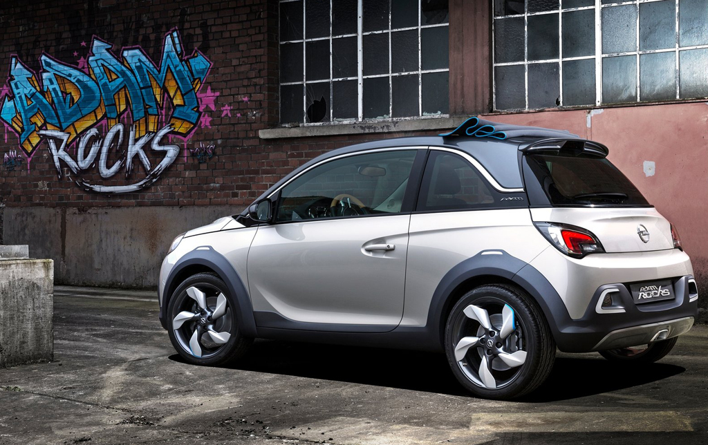 2013 Opel Adam Rocks Concept 7 Personalize your 2013 Opel Adam Rocks Concept