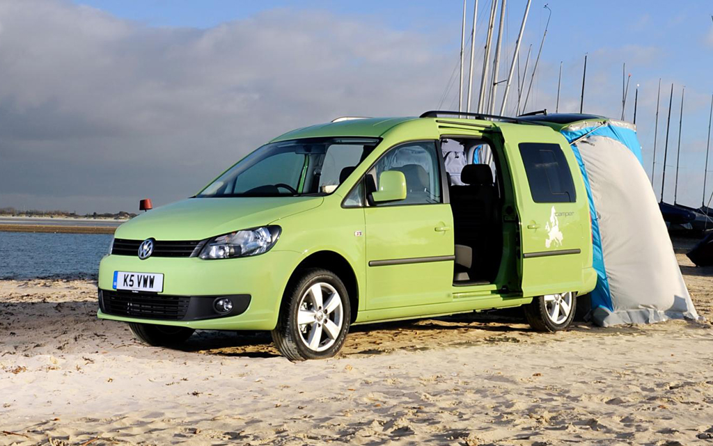 2013 volkswagen caddy maxi camper from volkswagen announced. Black Bedroom Furniture Sets. Home Design Ideas