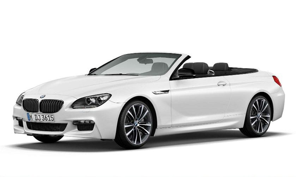 2014 BMW 6 Series Convertible Frozen Brilliant White Edition 2 BMW comes out with the special edition, 2014 6 series Convertible