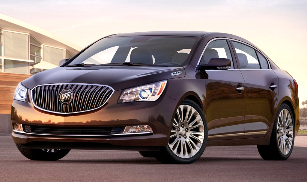 2014 Buick LaCrosse 2 Buick LaCrosse(2014) with enhanced features