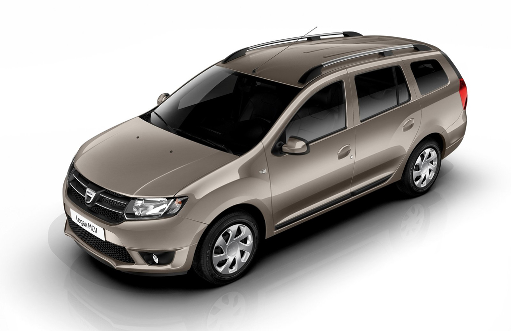 2014 Dacia Logan MCV 7 The powerful The 2014 Dacia Logan MCV