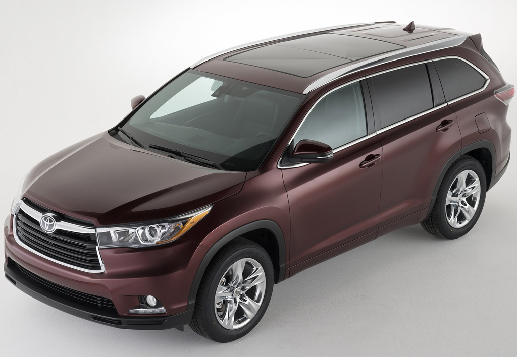 raising the bar in the mid size suv toyota highlander 2014. Black Bedroom Furniture Sets. Home Design Ideas