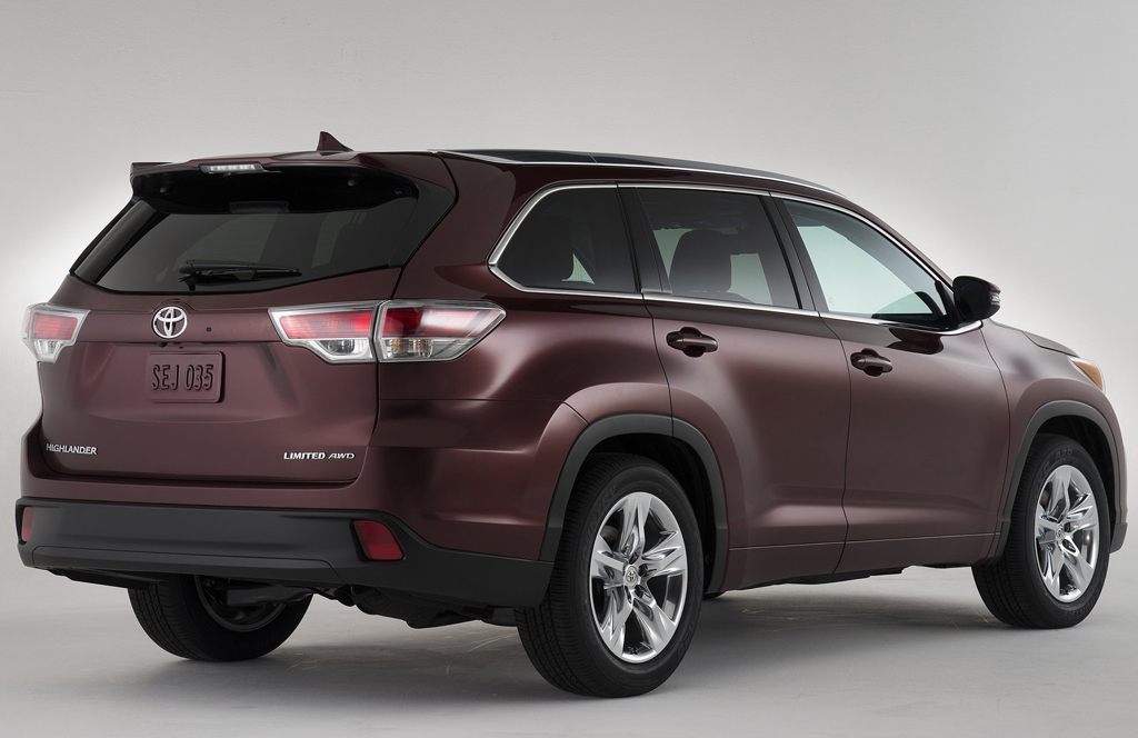 2014 Toyota Highlander 13 Raising the bar in the mid size SUV – Toyota Highlander 2014