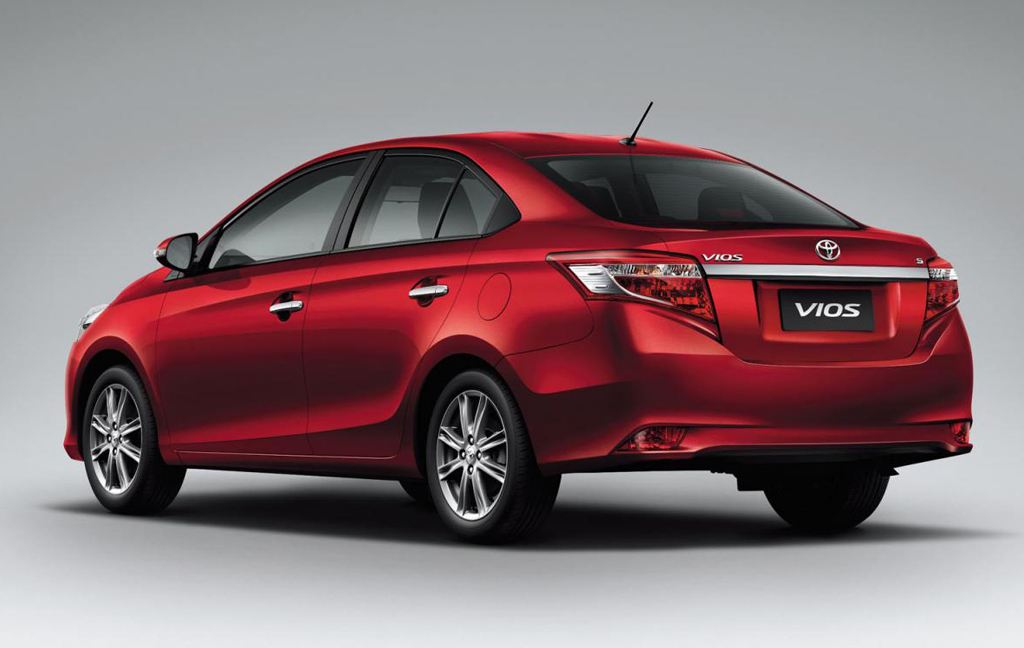 2014 Toyota Vios 10 Toyota reveals the 2014 Vios