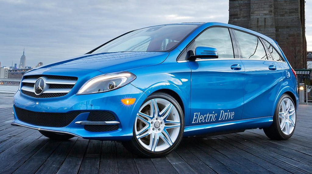 2015 Mercedes Benz B Class Electric Drive 1 Mercedes Benz enters the 2015 B Class Electric Drive market