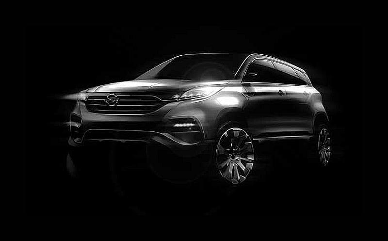 SsangYong LIV 1 Concept 1 New SsangYong model LIV 1 revealed