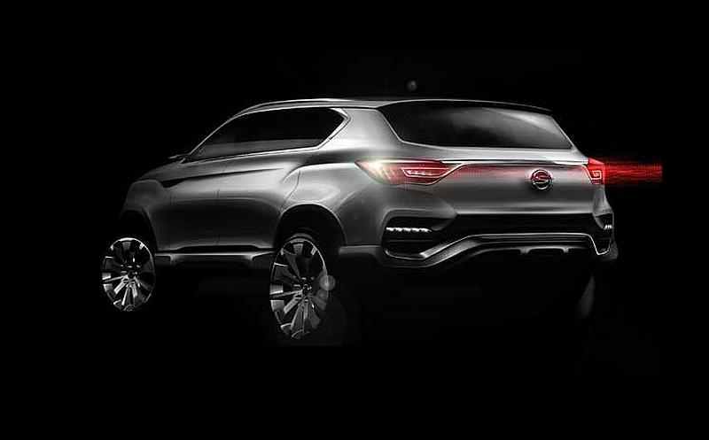 SsangYong LIV 1 Concept 2 New SsangYong model LIV 1 revealed