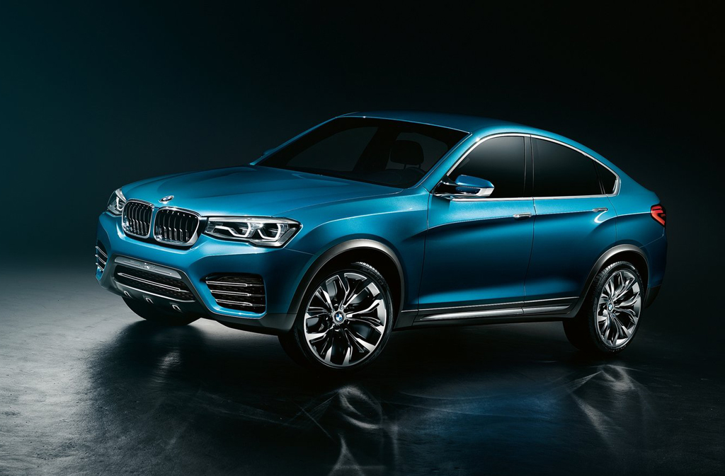 2013 BMW X4 Concept 1 The Stunning New 2013 BMW X4 Concept